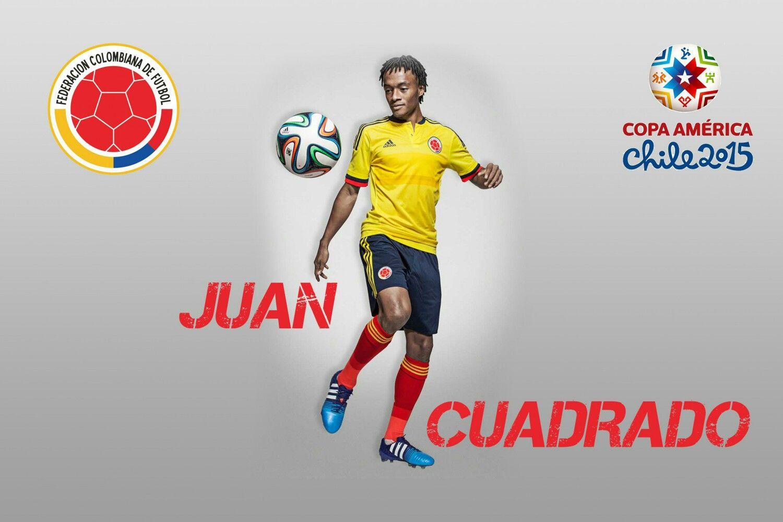 super popular cfa57 e1fca Juan Cuadrado of Colombia wallpaper.   Football Wallpaper ...