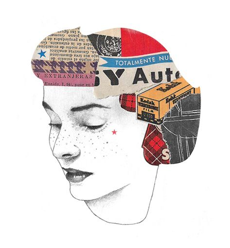 Head collage
