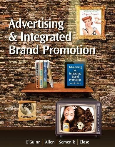 Advertising and Integrated Brand Promotion (with