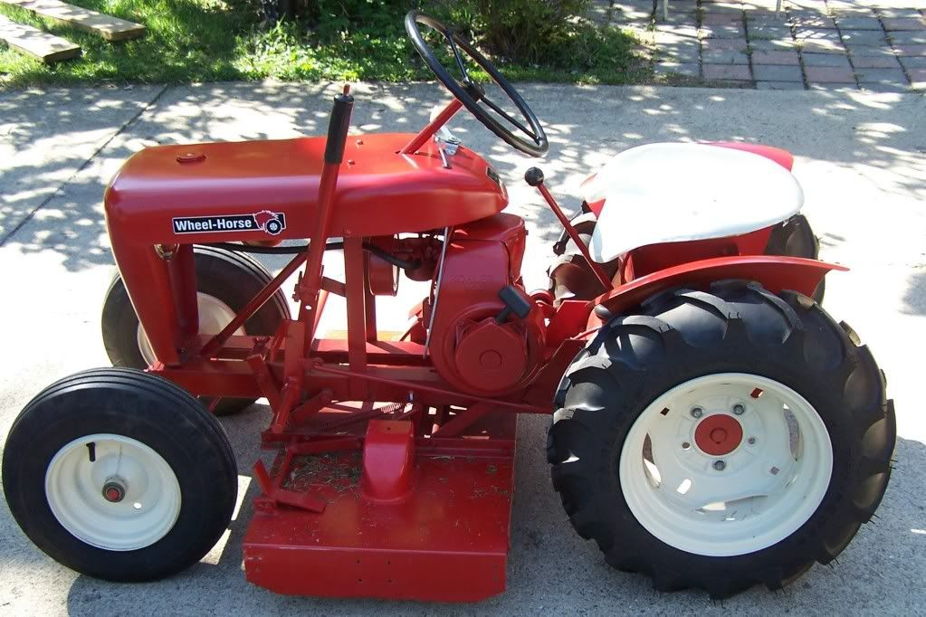 1958 Rj 58 1955 To 1964 Wheel Horse Tractor Tractors Tractor Mower