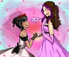 These two are the cutest couple ever! - KrismPro and TheRPGMinx