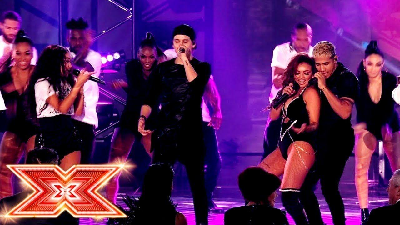 Little Mix & CNCO - Reggaeton Lento Remix (Live at The X
