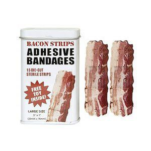 bacon band aids. yes, plz.