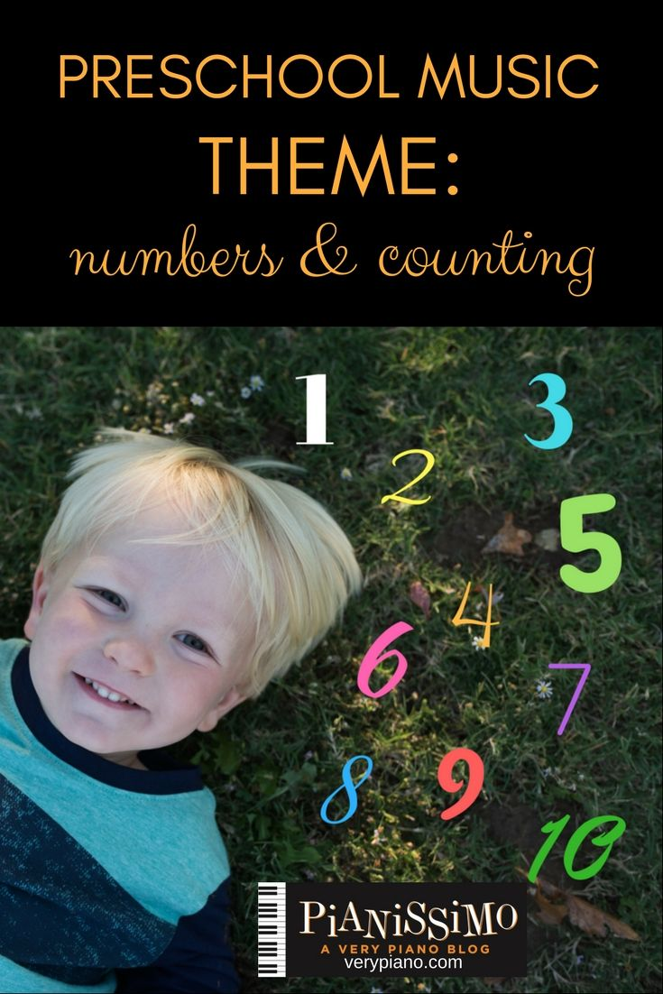 Preschool Music Numbers and Counting Theme Preschool