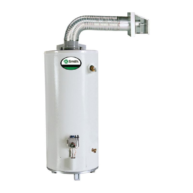 A O Smith Gdvt 50 Promax Direct Vent 55 000 Btu 50 Gal Residential Natural Gas Water Heater Natural Gas Water Heater Water Waste