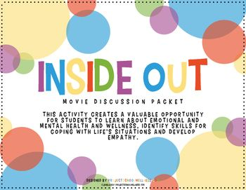 Movie Discussion Questions (Inside & Out of Mental Health ...