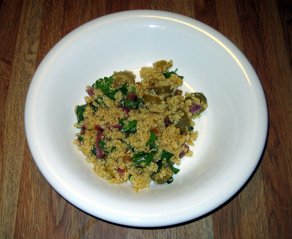 Quinoa salad with sugar snap peas tickle my taste buds how to prepare a simple quinoa salad this simple quinoa salad recipe shows just how easy you can include quinoa in your diet forumfinder Gallery