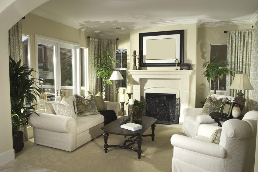 50 Elegant Living Rooms: Beautiful Decorating Designs & Ideas ...