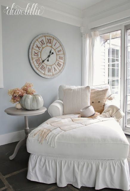 Dear Lillie Autumn Sunroom At Bluestone Hill All White Room Dear Lillie Home Decor Autumn sunroom at bluestone hill