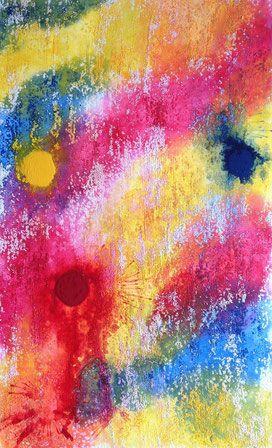 Bild 66 : 40x65 10mm Spanplatte - 35€  Abstrakt , Gemälde, H.Schenk