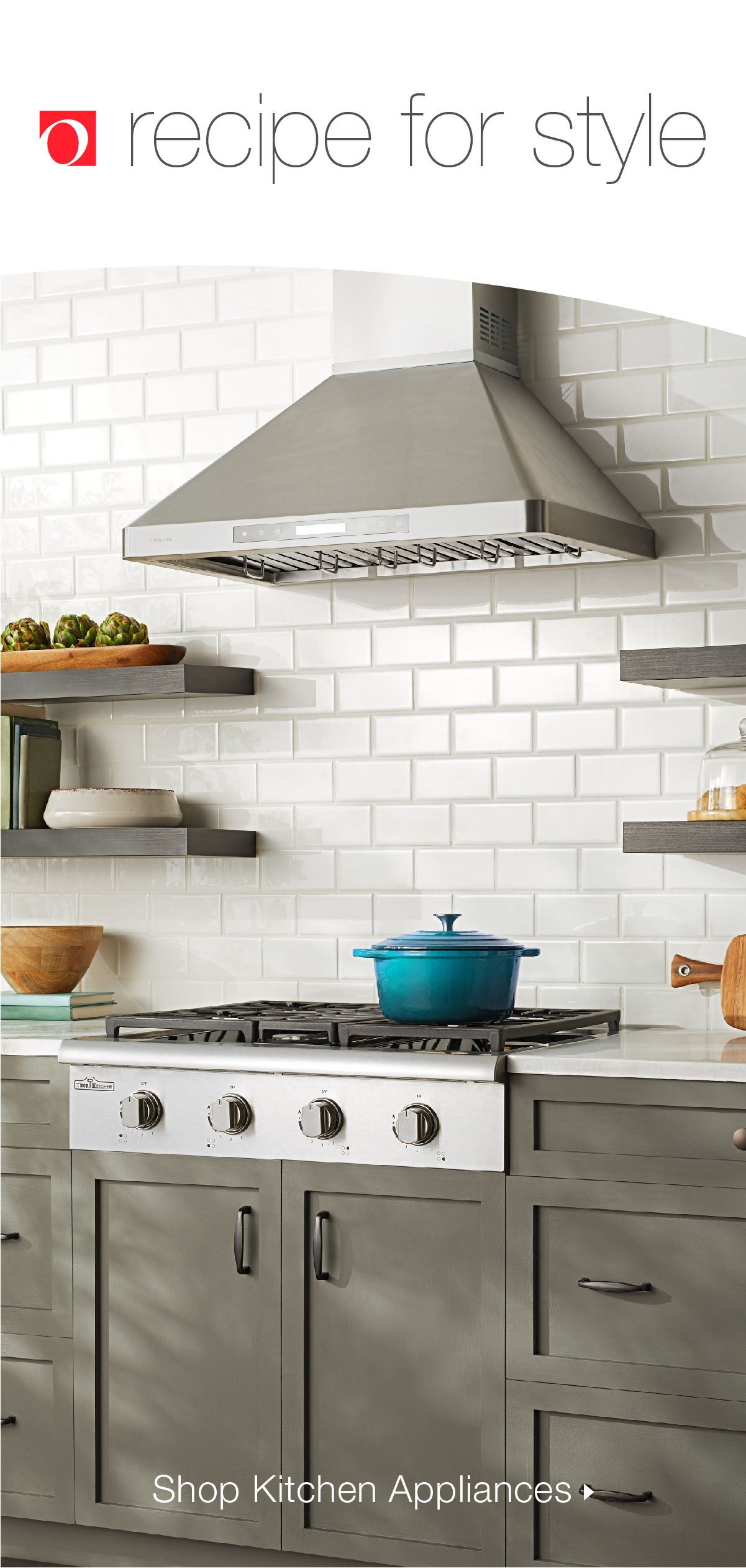 Cook Your Meals In Style With New Appliances From Overstock With Our Huge Selection Of Kitchen Appliances You L Kitchen Style Kitchen Cabinets Modern Kitchen
