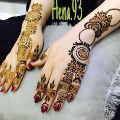 See This Instagram Photo By 7ana Design 962 Likes Henna