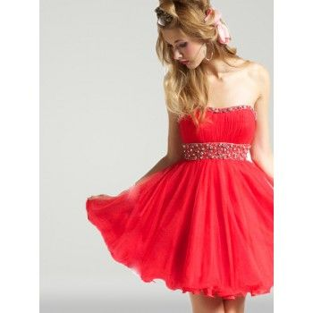 Cute Short Red Dresses
