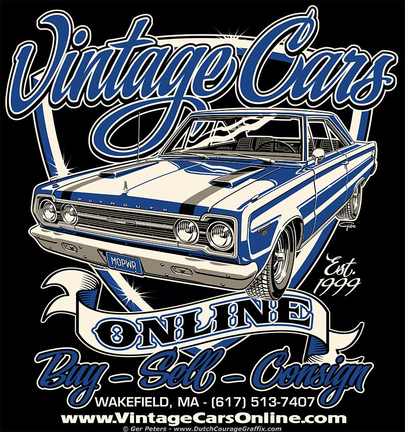 Vintage Cars Online Plymouth Gtx Muscle Car Logo Plymouth