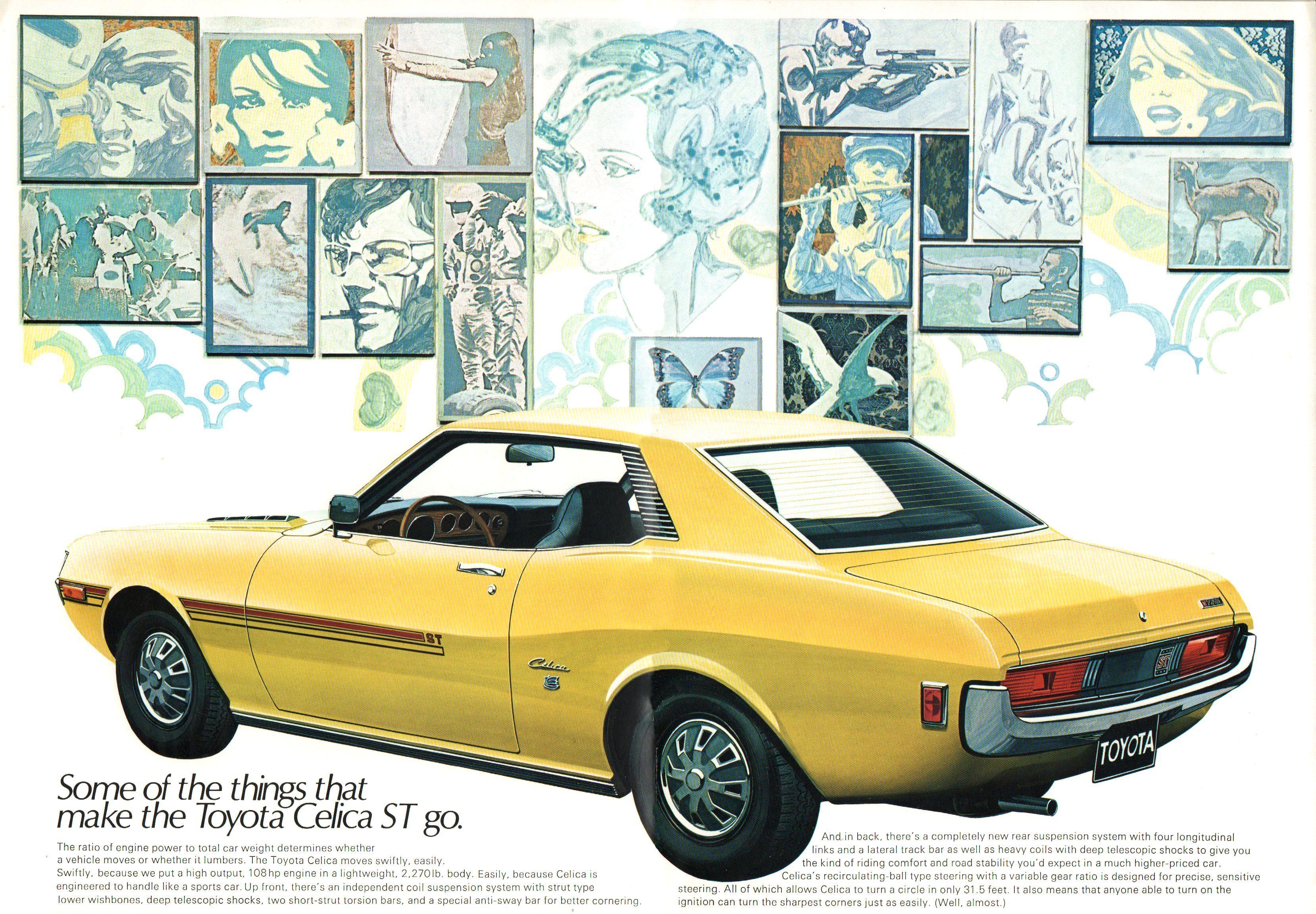 1971 Toyota Celica | Toyota Classic Cars | Pinterest | Toyota celica ...
