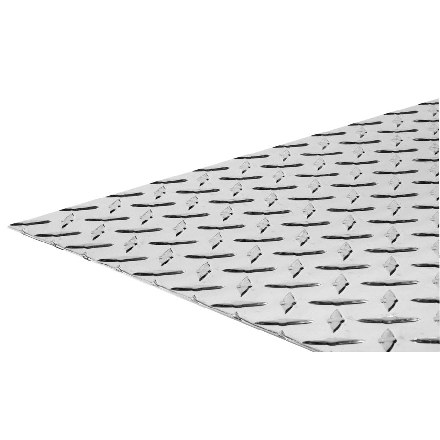 Hillman 12 In X 24 In Aluminum Tread Plate Sheet Metal Lowes Com Aluminum Sheet Metal Decorative Sheets Sheet Metal