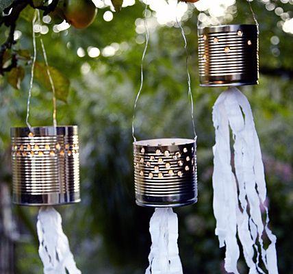 tins for garden