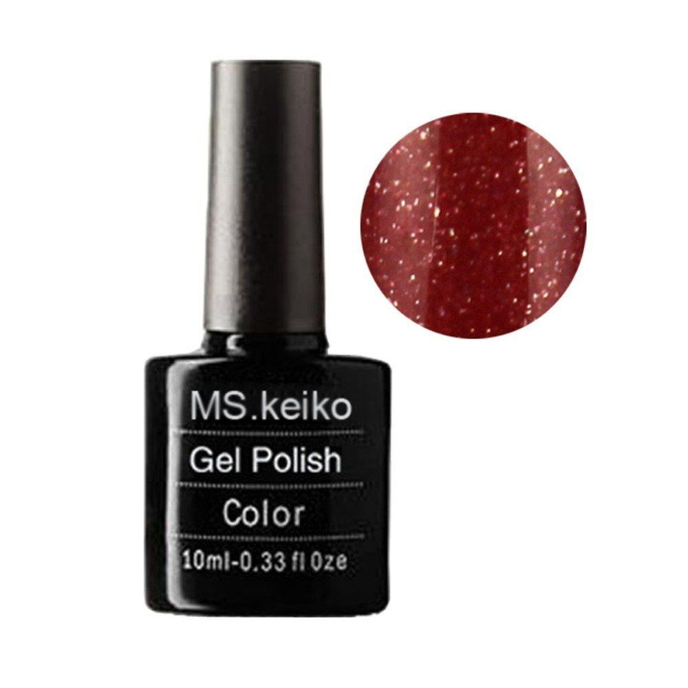 GBeauty MsKeiko GelPolish SHELLAC NEW colors Soakoff UV Led Gel