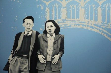 Lee Kuan Yew & beloved wife Kwa Geok Choo, at their favourite Bridge of Sighs.. At Cambridge where they both studied