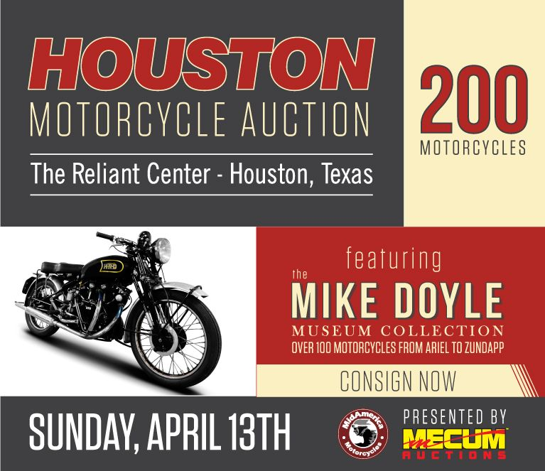 Mecum Auction - #Houston Motorcycle Auction 2014 Consignment List ...