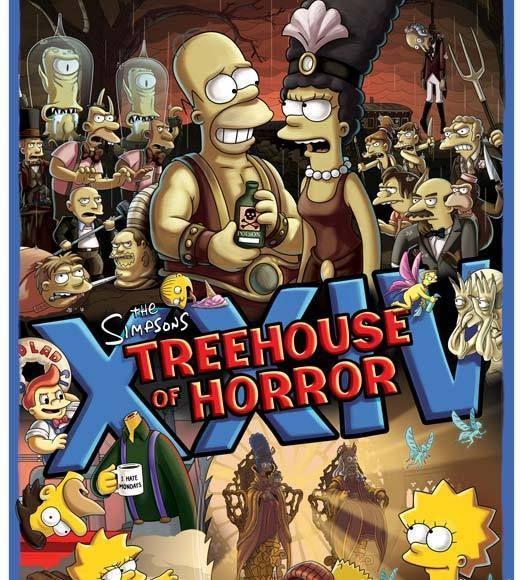 'The Simpsons' - Halloween on TV