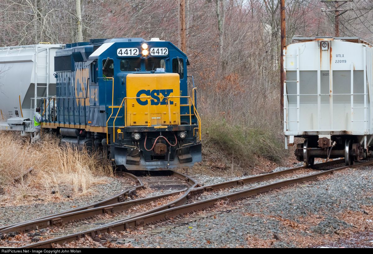 Net photo csx 4412 conrail shared assests operation emd gp40 2 at