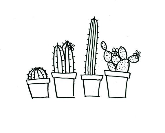 Quirky Cactus Hand Embroidery Pattern Pdf Download Hand Embroidery Pattern Cactus Embroidery Simple Embroidery