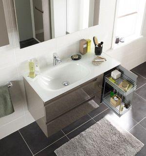lapeyre meuble salle de bain gain de place
