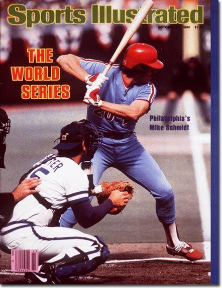 October 27, 1980 - The 1980 World Series.  Mike Schmidt, Baseball, Philadelphia Phillies.