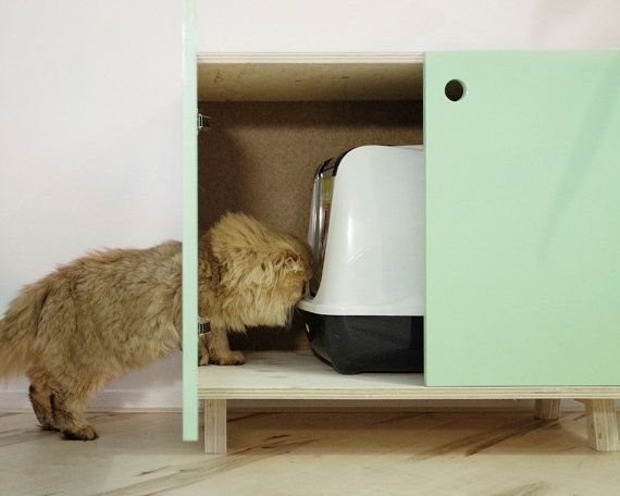 litiere chat petit espace