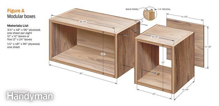 Diy Box Shelves Diy Wood Box Wood Box Shelves Box Shelves