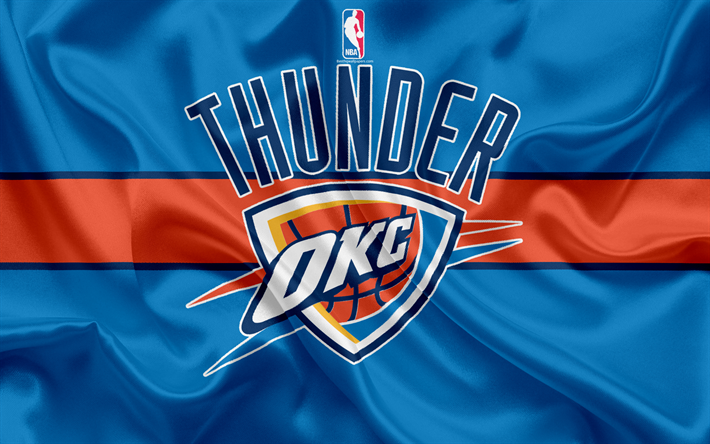 size 40 3d94a c9fd9 Download wallpapers Oklahoma City Thunder, basketball club ...