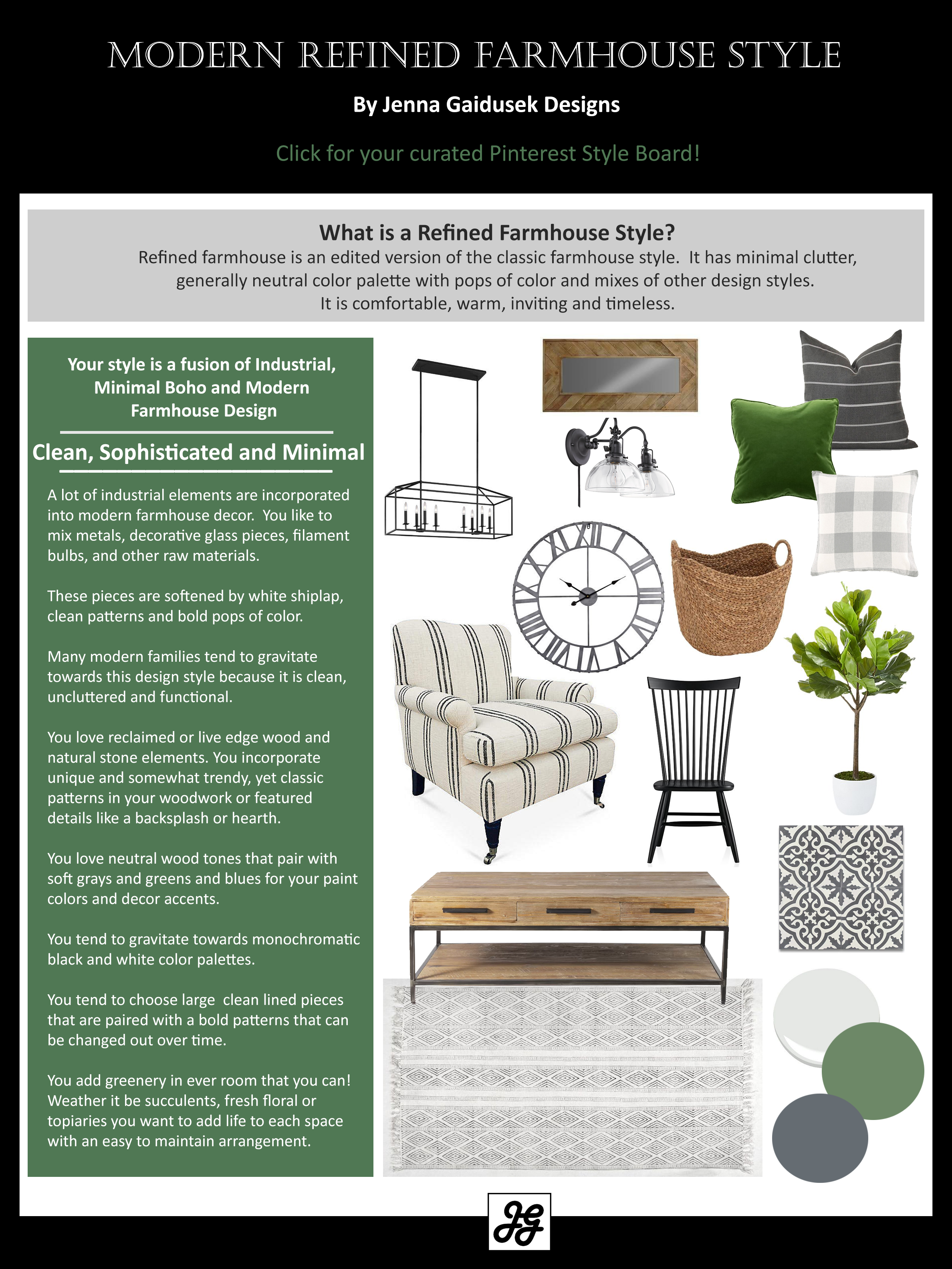 Style Quiz- Modern Farmhouse Style Find Out What Farmhouse Style You Are! IS Your Style More Coa…   Modern Farmhouse Style, Farmhouse Style, Modern Farmhouse Design