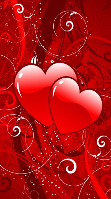 Download 360x640 Serdce Cell Phone Wallpaper Category All For Girls Heart Wallpaper Valentines Wallpaper Cellphone Wallpaper