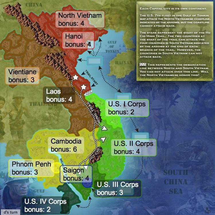 The Vietnam War Esl Resources Vietnam War Vietnam Vietnam History
