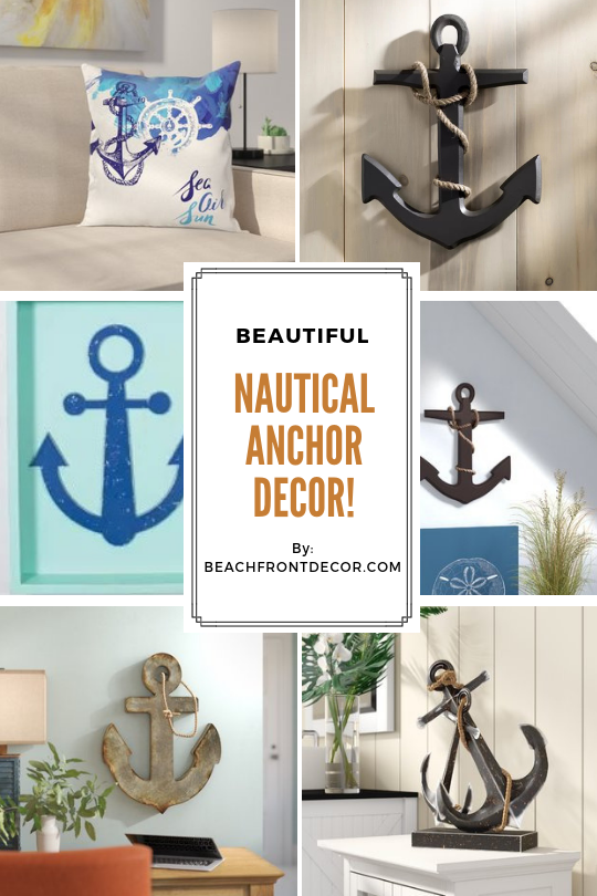 100 Anchor Decorations Find Anchor Decor That Will Fit Your Coastal Home And Nautical Wall Decor Anchor Decor Anchor Wall Decor Anchor Home Decor