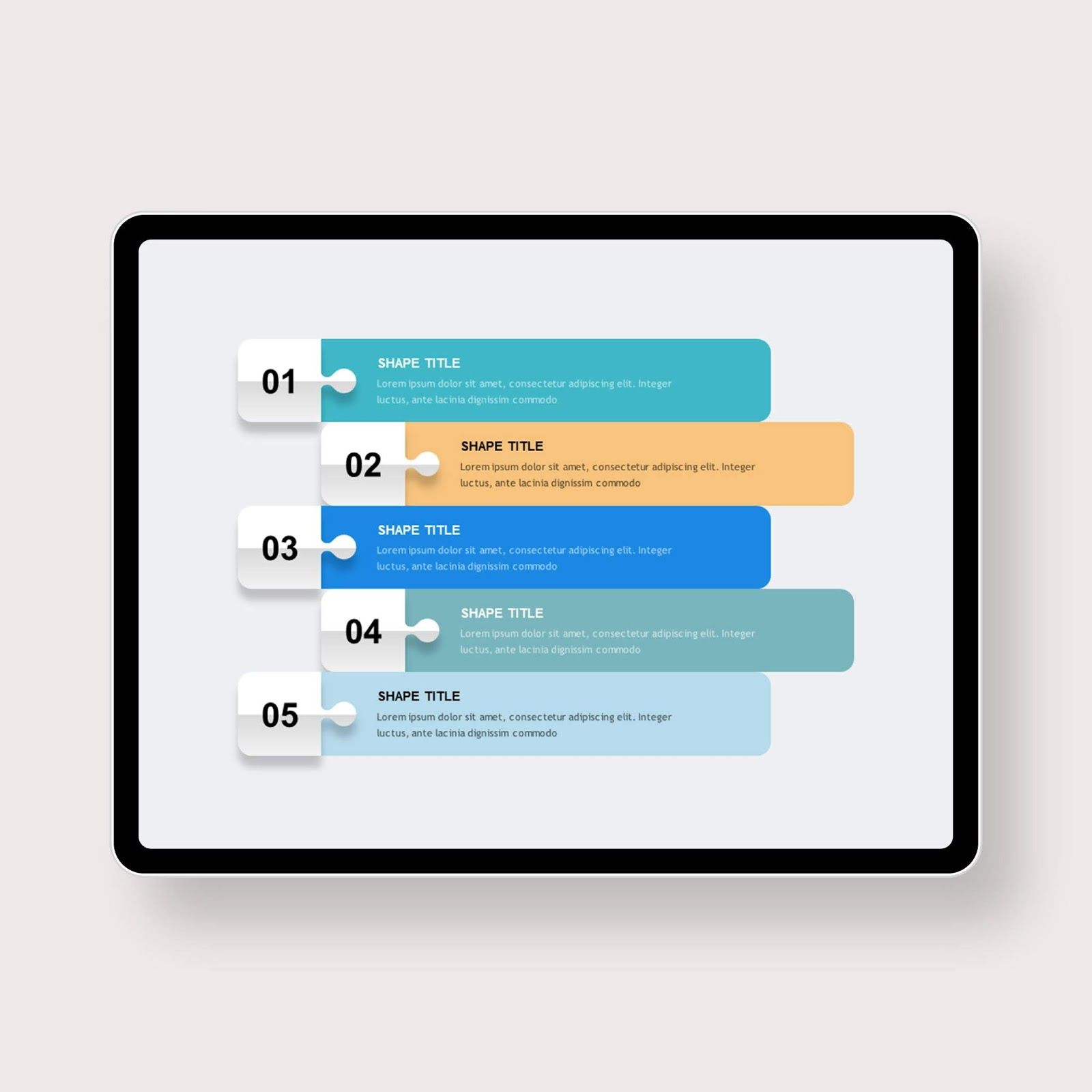 Vertical Number List Powerpoint Templates Powerpoint Template Free Powerpoint Powerpoint Templates