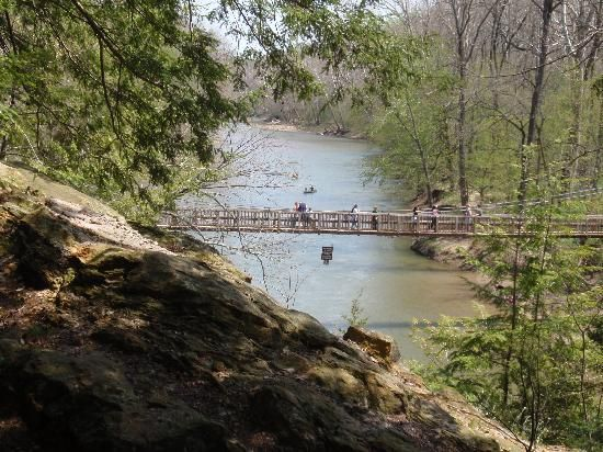 Just visited this park 5/23/13---absolutely beautiful!  Turkey Run State Park
