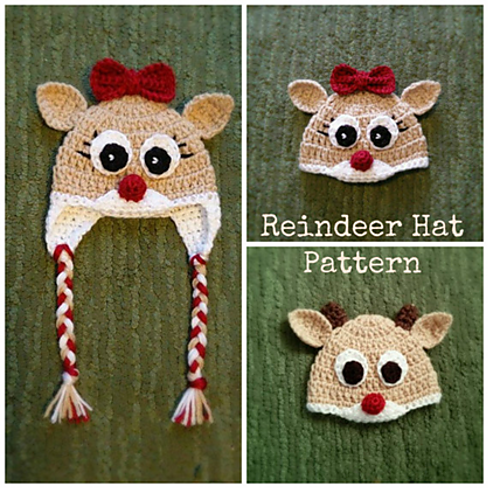 Clarisse the Reindeer Hat