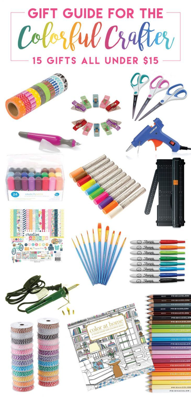 15 Gift Ideas for the Colorful Crafter (all under 15