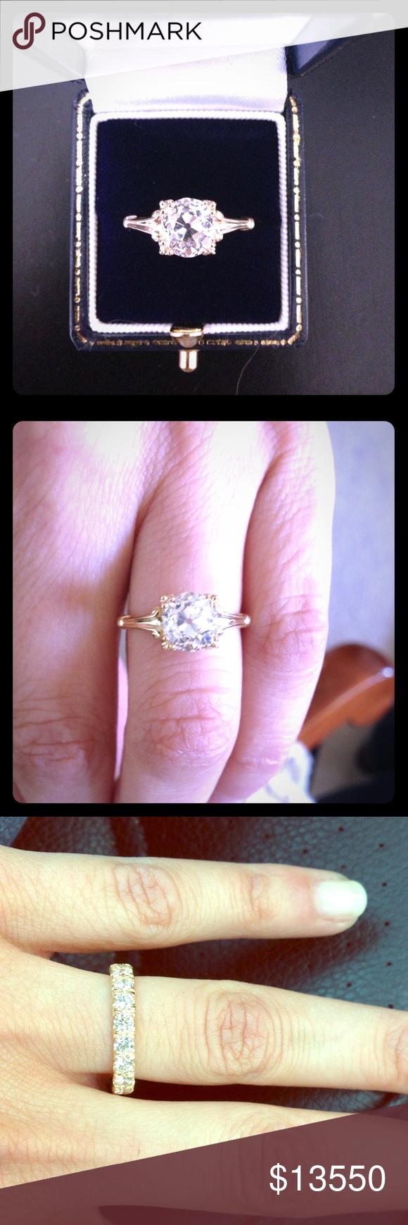 Engagement Ring & Wedding Band (set) | My Posh Picks | Pinterest