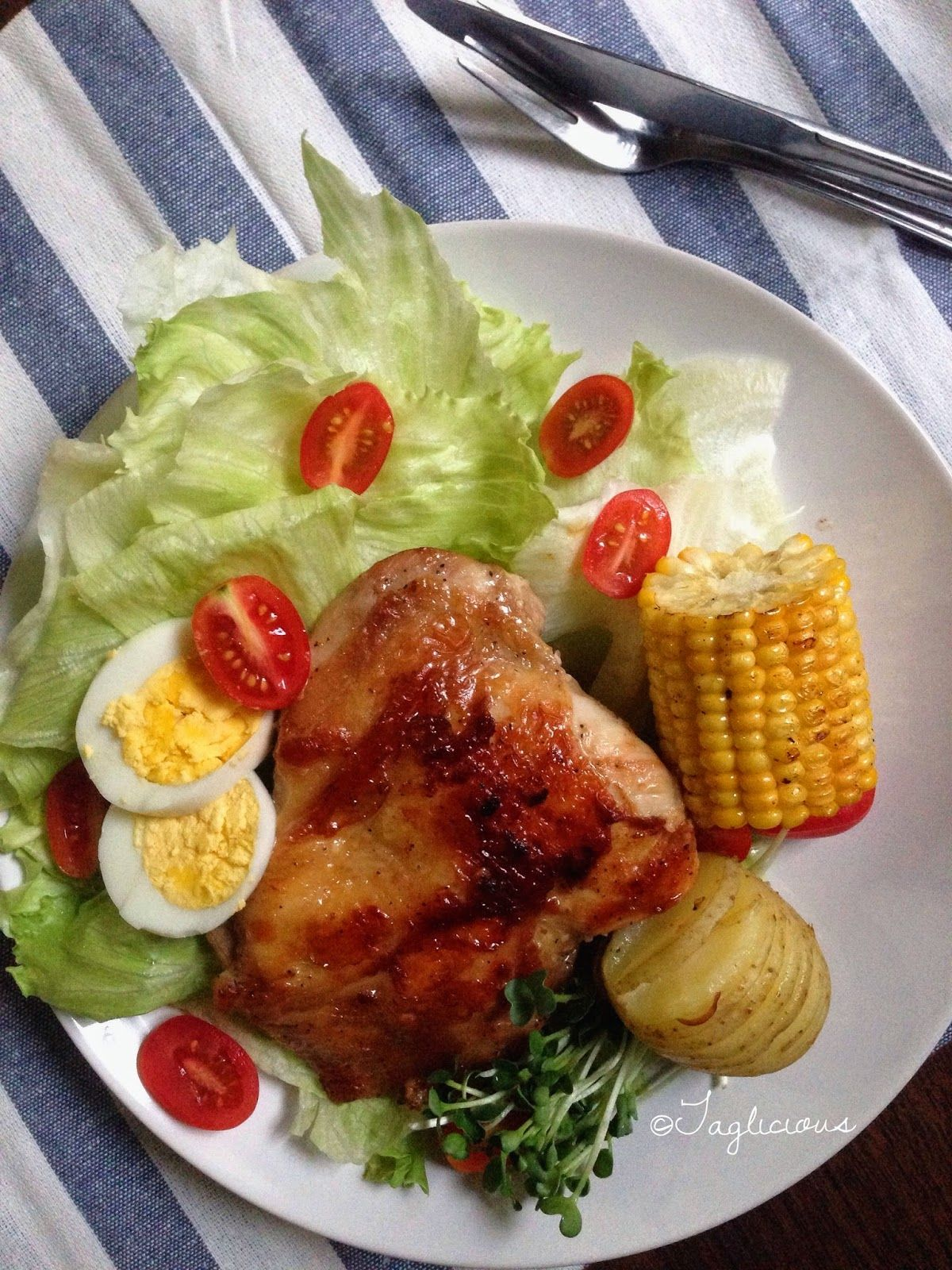 Taglicious simple chicken chop by happycall food taglicious simple chicken chop by happycall forumfinder Images