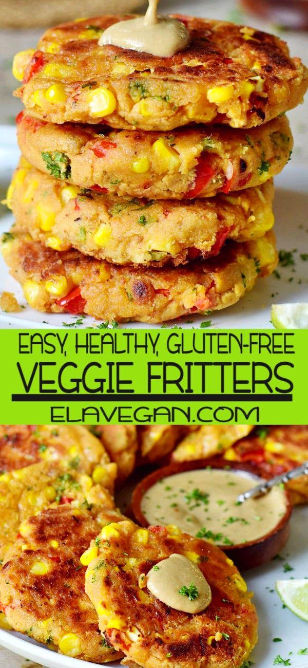 Veggie Fritters #dinnersidedishes