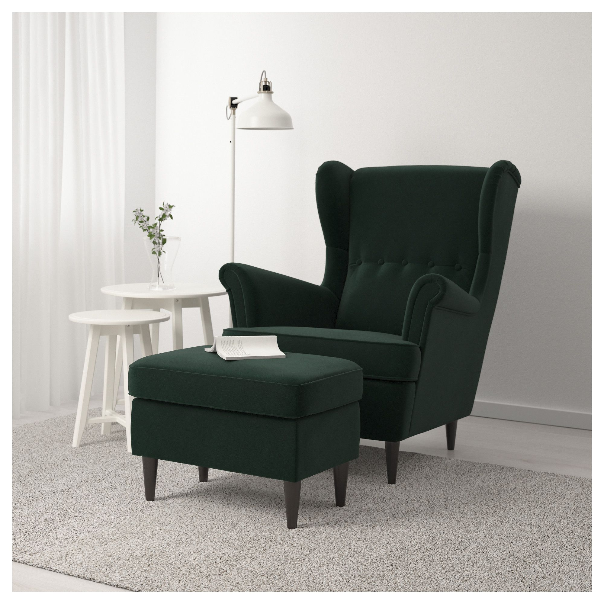 Furniture and Home Furnishings | Green armchair, Ikea ...