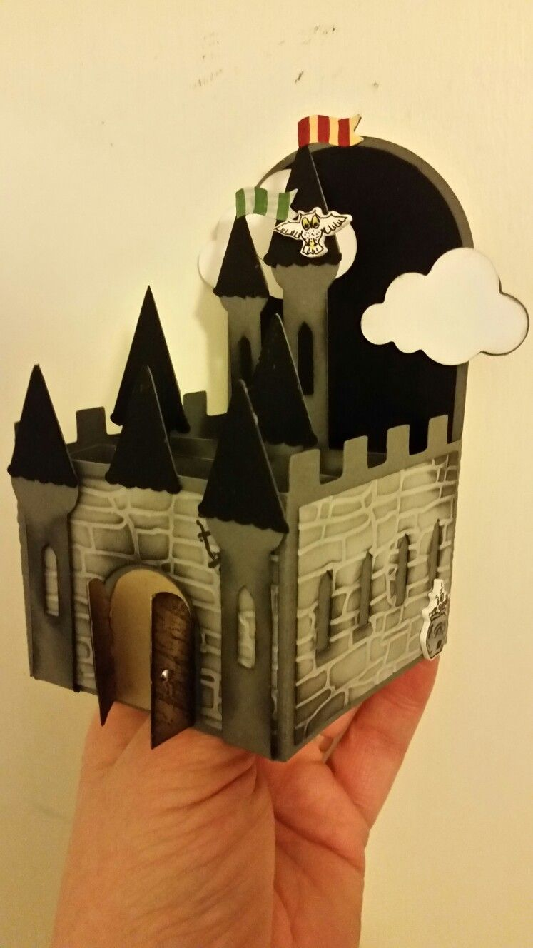 Harry Potter style card made using card