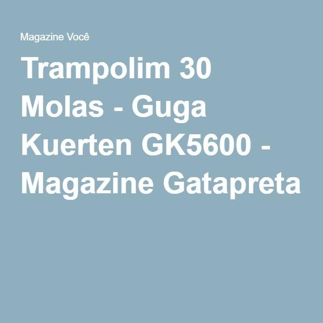 Trampolim 30 Molas - Guga Kuerten GK5600 - Magazine Gatapreta