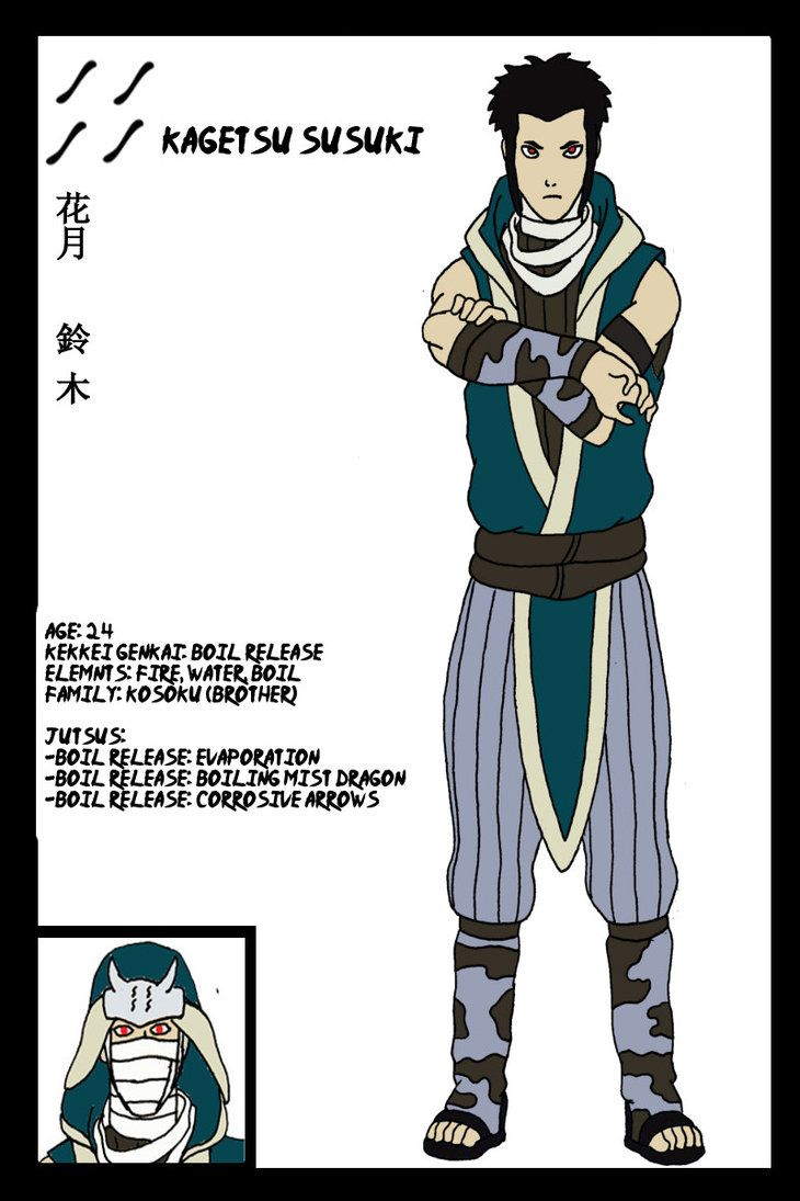 Naruto OC- Kagetsu by Immortal-Wenz on DeviantArt   naruto