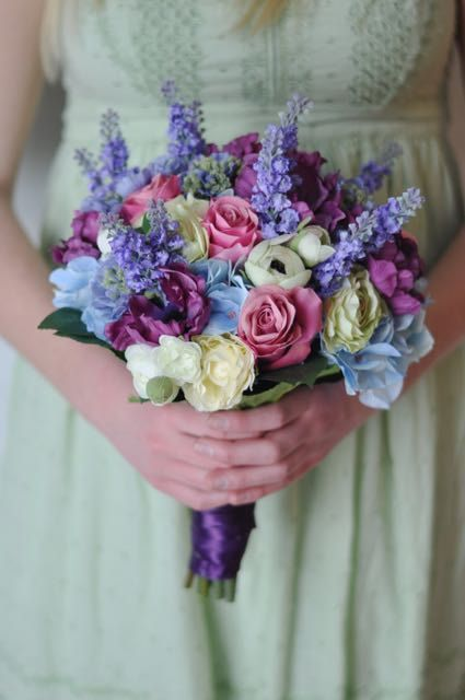 Wedding Flowers Wedding Bouquet Made With Radiant Orchid Tulips
