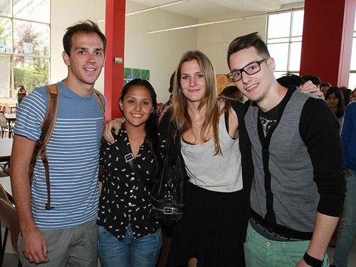Universidad Mayor recibe a más de 150 alumnos de intercambio