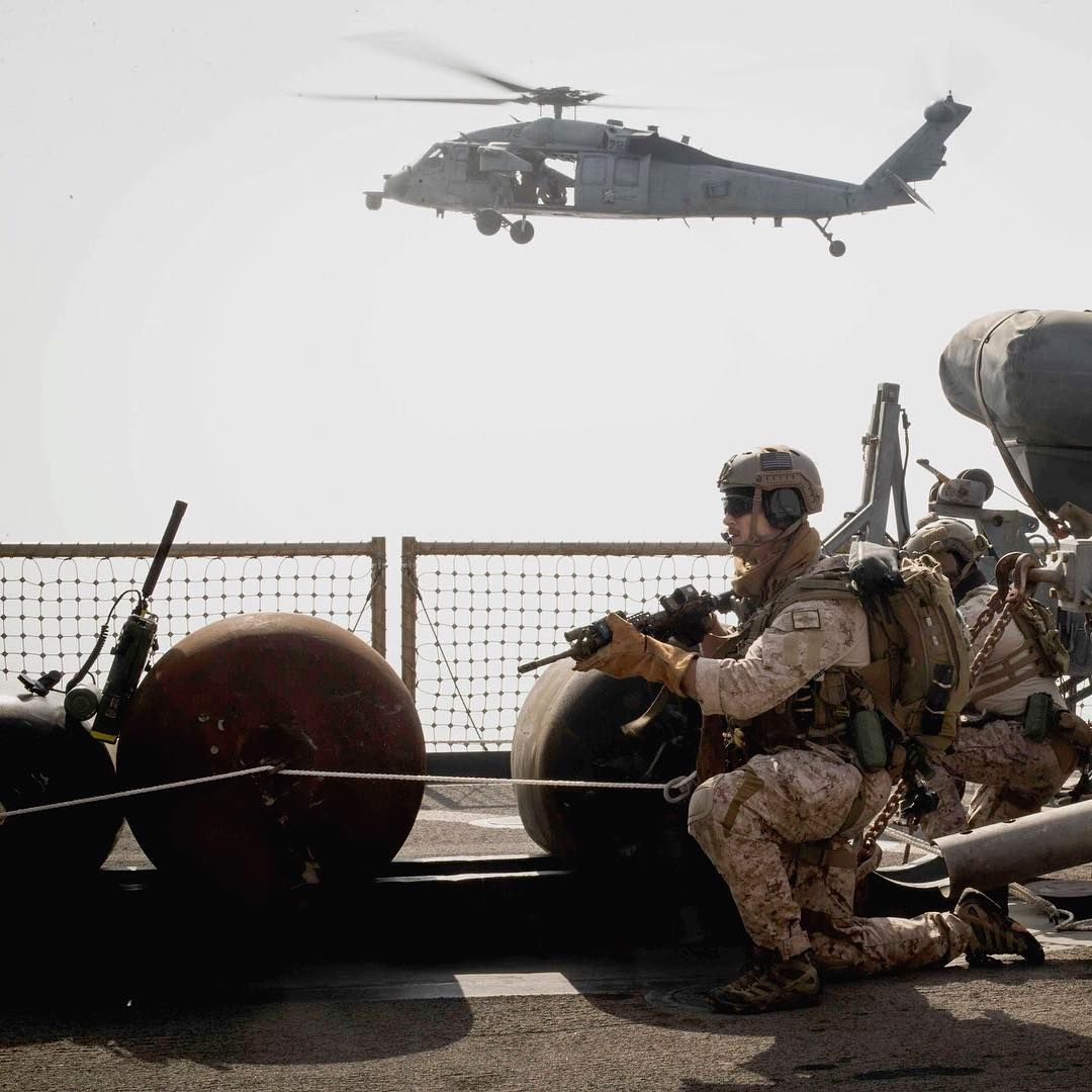 Air Land And Sea Marines With The Maritime Raid Force